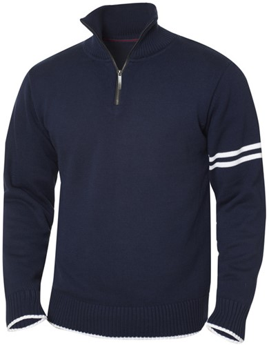 New Wave Highland sweater met rits