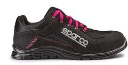 Sparco Practice 07517.NRFU Veiligheidsschoen S1P - Zwart/Roze