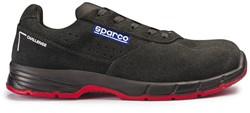 Sparco Challenge 07519.NRNR Veiligheidsschoen S1P - Zwart/Rood