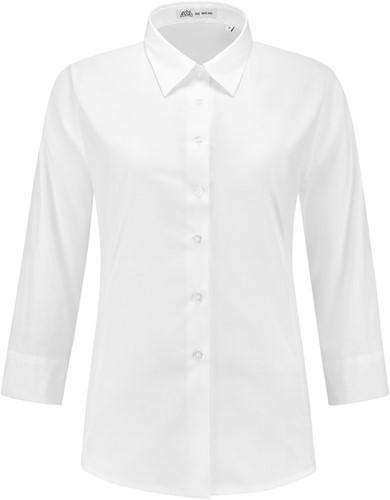 Dames blouse Julie 3/4 mouw - Wit