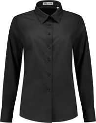 Dames blouse Juliette LM - Zwart