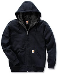 Carhartt Colliston Sherpa Lined Zip Front Sweater