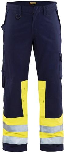 Blaklader 14781514 Multinorm werkbroek - Navy/Geel
