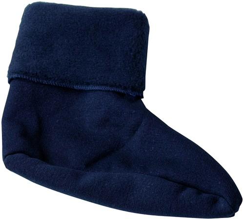 SALE! Elka 151300012 Rain Fibre pile socks - Navy - Maat 39