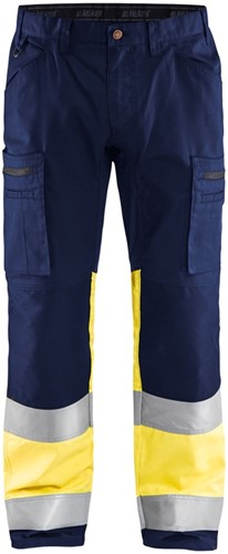 Blaklader 15511811 Werkbroek met Stretch High Vis