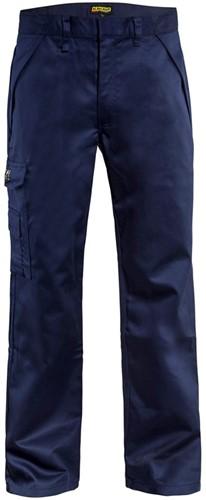 Blaklader 17241516 Vlamvertragende werkbroek - Marineblauw