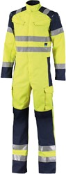 Orcon Capture Protective Multi Protect HV Overall Matthew - Geel/Donkerblauw