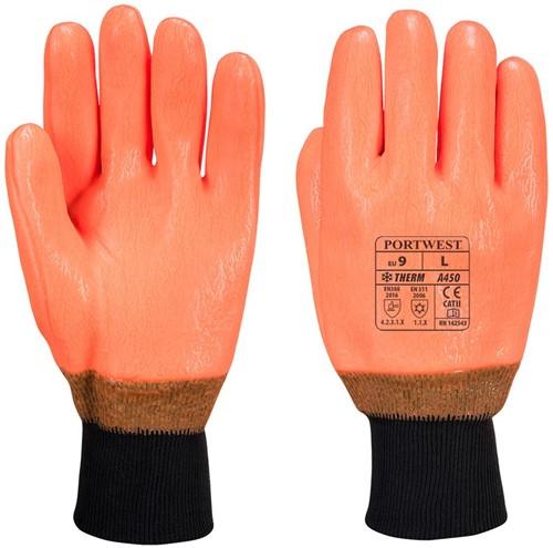 Portwest A450 Weatherproof Hi-Vis Glove