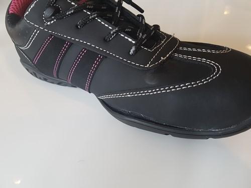 OUTLET! Safety Jogger Ceres S3 Metaalvrij - Zwart/Roze - Maat 37-2