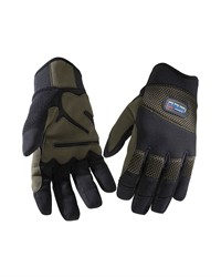 Blaklader 22343914 Handschoen Ambacht Zwart/Khaki