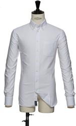 J.H&F Indigo Bow 30 Regular Fit Overhemd