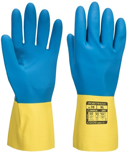 Portwest A801 Double-Dipped Latex Gauntlet