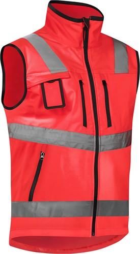 Blaklader 30492517 Softshell Vest High Vis-XXS-Fluor Rood