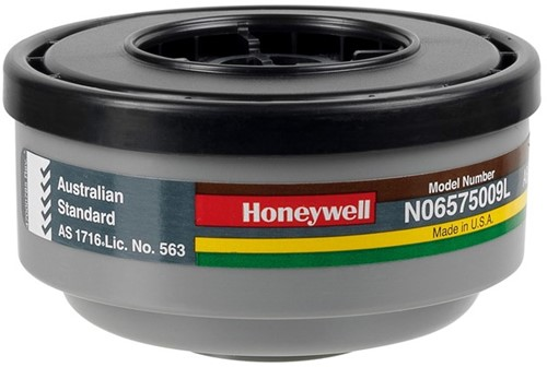 Honeywell Kunststof gasfilter voor klasse 1 maskers (N06575009L)