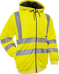 Blaklader 33461974 Hooded Sweatshirt High Vis