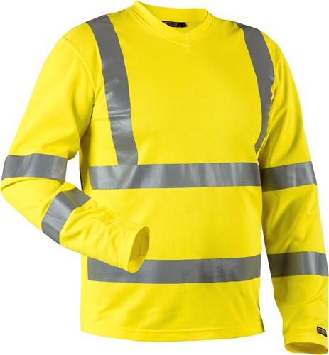 Blaklader 33811070 T-shirt High Vis lange mouw UPF 40+ UV