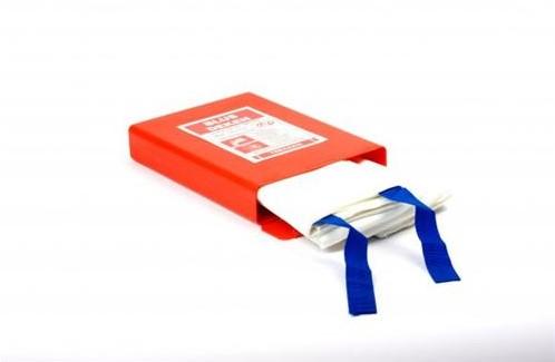 ATV Blusdeken drielaags 120x120cm  hardbox