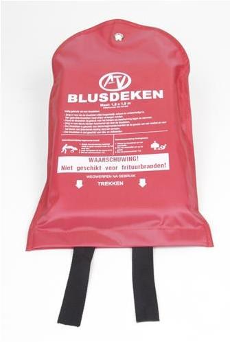 ATV enkellaags blusdeken Softbag 180x180 cm