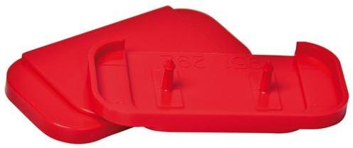 Reserve breekplaten rood (6 stuks)