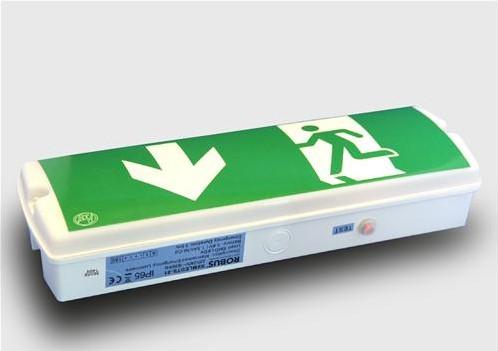 ATV Emergency Light LED opbouw plaf/muur 368x119x90mm
