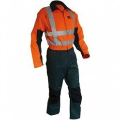 Sticomfort Zaag-snipperoverall 5166 - Groen/Oranje
