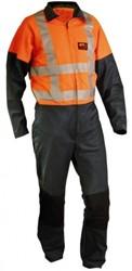 Sticomfort Snipperoverall 5176 - Groen/Oranje