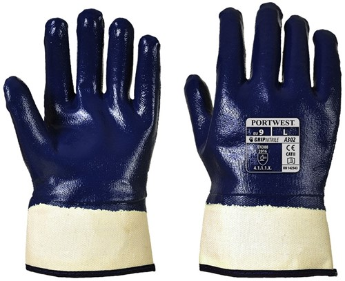 Portwest A302 Fully Dipped Nitrile Glove