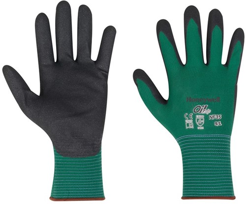 Honeywell Polyamide handschoen met nitril coating, voor algemeen gebruik (NF35)