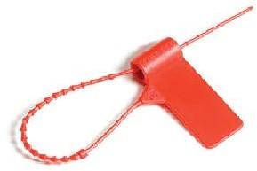 Verzegeling blusser/koffer rood 120 mm onbedr/1000 st