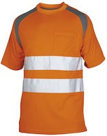Projob 6006 T-shirt High-vis CL.2-Oranje-XS