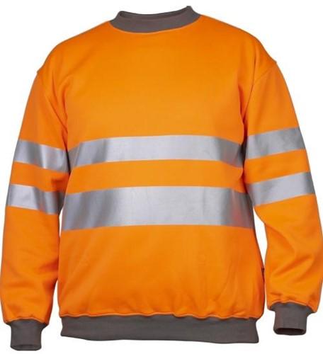Projob 6101 Sweat T-shirt High-Vis 3-Oranje-XS