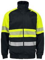 Projob 6120 Sweater High-vis CL 1 - Geel/Zwart