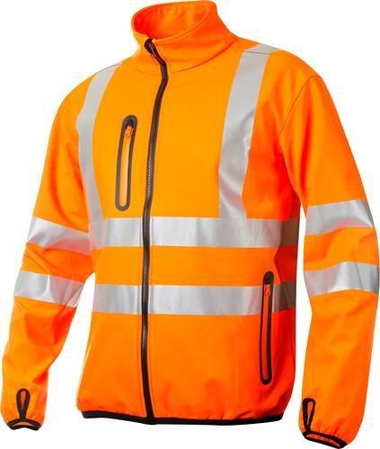 Projob 6412 Softshell Werkjas High-vis-Oranje-XS
