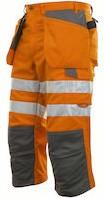 Projob 6510 3/4 Werkbroek High-vis-Oranje-44