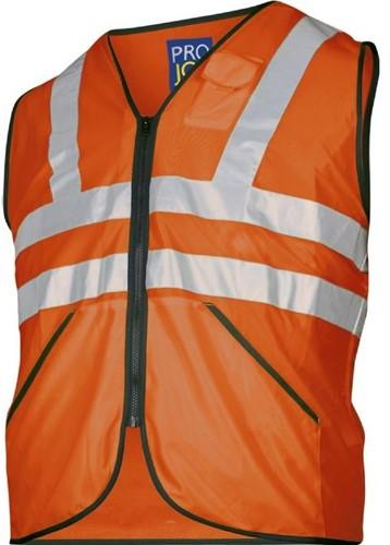Projob 6702 Vest High-vis CL.3-Oranje-ONE SIZE