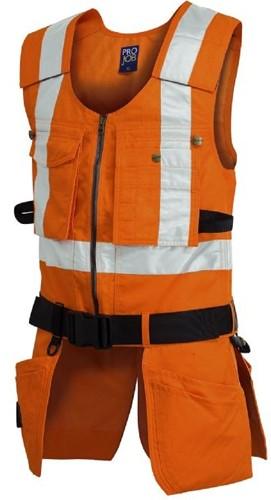 Projob 6704 Vest High-vis-Oranje-XS