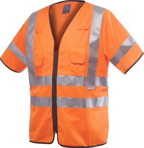 Projob 6707 Vest High-vis CL.3-Oranje-S/M