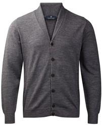 Clipper Corporate Heren vest, sjaal kraag - 154 | Steen