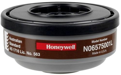 Honeywell Kunststof gasfilter voor klasse 1 maskers (N06575001L)