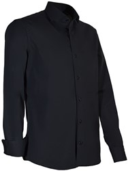Giovanni Capraro 936-20 Overhemd - Zwart
