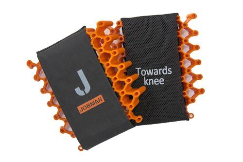 Jobman 9947 Kniebeschermers Orange/grijs