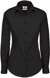 B&C Black Tie LSL Dames Blouse