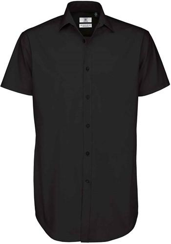 B&C Black Tie SSL Heren Overhemd