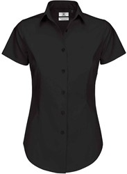 B&C Black Tie SSL Dames Blouse