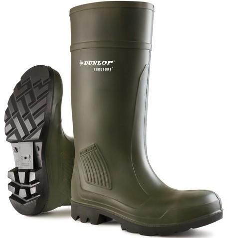 Dunlop C462933 Purofort Knielaars S5 - groen-38