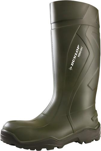 Dunlop D760933 Purofort+ Knielaars - groen-49/50