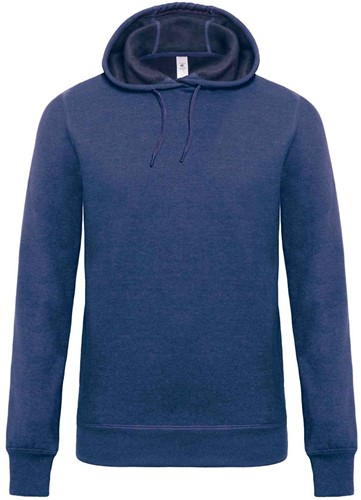 B&C DNM Universe Heren Sweater-S-Dark Heather blauw