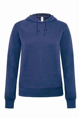 B&C DNM Universe Dames Sweater-XS-Dark Heather blauw