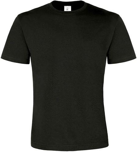 B&C Exact 190 Top Heren T-shirt-Zwart-S
