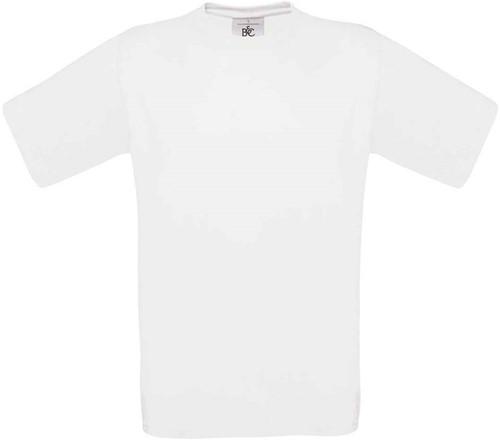 B&C Exact 190 T-shirt-Wit-XS